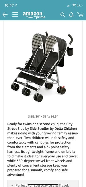 Double umbrella stroller for Sale in Richmond, VA