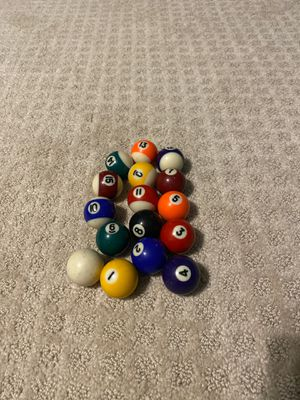 Pool balls (kids size) for Sale in Waldorf, MD