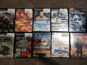 Play Station 2 games for Sale in Taylorsville, UT