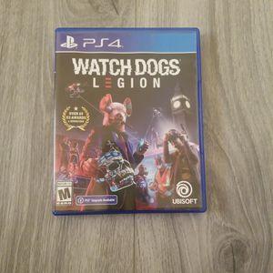 Watch Dogs Legion Ps4 for Sale in Auburn, WA