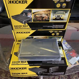 Kicker Car Audio Car Stereo Amplifier . 2400 watts . Holiday Super Sale . $259 While They Last . New for Sale in Mesa, AZ