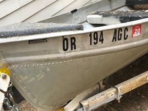 12ft Aluminum Boat for Sale in Portland, OR
