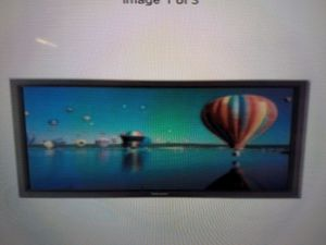 Panasonic TH60PF50U Professional PF50 Series 3D 60 inch Display Monitor for Sale in Capitol Heights, MD