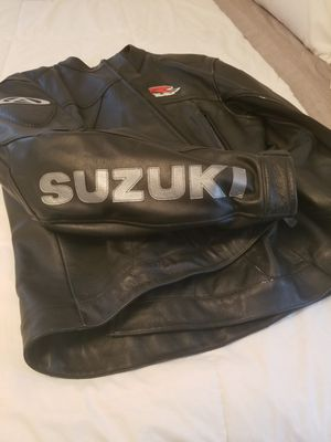 Suzuki motorcycle jacket for Sale in Central Falls, RI