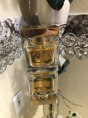 The one dolce gabbana for Sale in Deer Park, TX