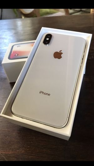 iPhone X unlocked with warranty for Sale in Sugar Land, TX