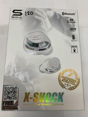 120$ X-SHOCK WIRELESS EARBUDS for Sale in San Bernardino, CA