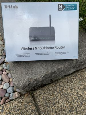New in box wireless router for Sale in Sherwood, OR