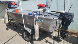 Gregor aluminum welded boat for Sale in Long Beach, CA