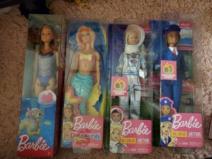 new barbie dolls for all for $20 for Sale in Hayward, CA