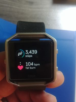 Fitbit Blaze - large smart watch fitness for Sale in Apex, NC
