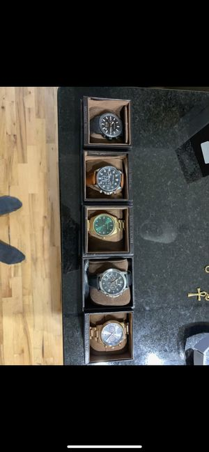Michael Kors and Fossil watches for sale. All need a replacement battery and are basically new for Sale in Richmond, VA