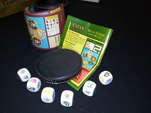 Catan Dice Game (2007) for Sale in Cedar Falls, IA