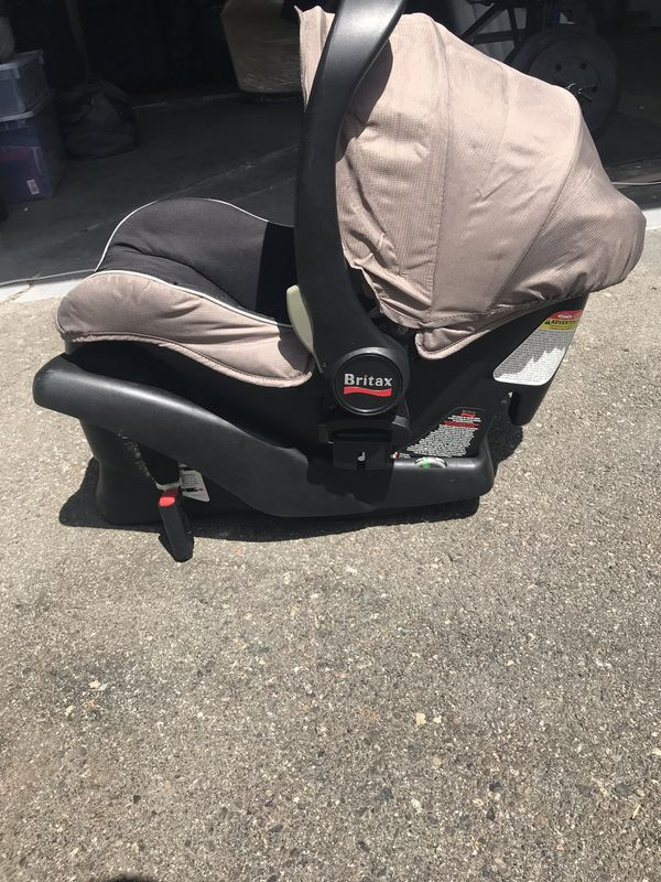 BRITAX car seat and base-used