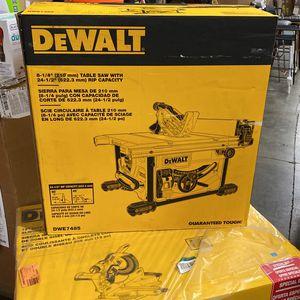 Dewalt Table Saw for Sale in Richmond, CA
