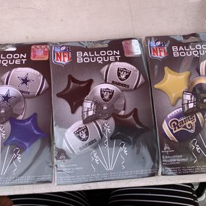 Balloon NFL Cowboys Raiders Rams for Sale in Los Angeles, CA