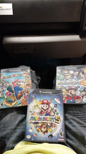 Mario party 4-5-7 for Sale in Lynwood, CA