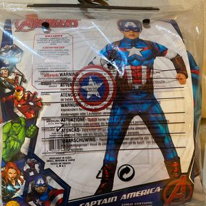 Captain America Costume (Ages5-7) for Sale in New York, NY