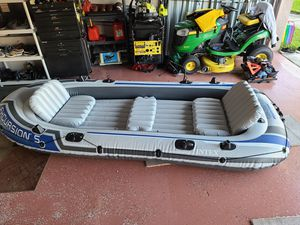 Intex inflatable 15 ft. Boat for Sale in NEW PRT RCHY, FL
