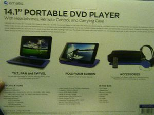 "14.1"" Portable DVD Player for Sale in The Bronx, NY"