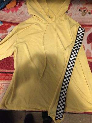 Yellow Checkered hoodie for Sale in Richmond, CA