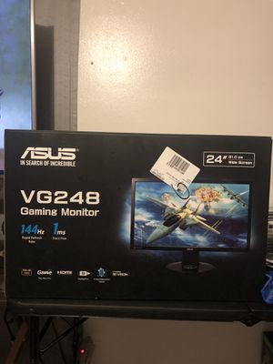 ASUS VG248 GAMING MONITOR (3 MONTHS OLD LIKE NEW CONDITION) for Sale in San Antonio, TX