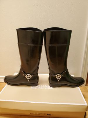 Michael Kors Rain boots size 7 for Sale in San Diego, CA