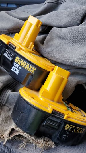 18v dewalt batteries XRP for Sale in Glendora, CA