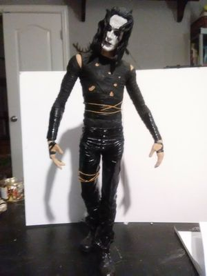 "The Crow Eric Draven 12"" Collectible Action Figure McFarlane Movie Maniacs 2 for Sale in Leander, TX"