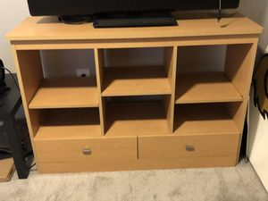 Entertainment stand/organizing book shelf for Sale in Eatonville, FL
