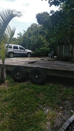 "1999 hmde 19""7 nice strong trailer for Sale in Seminole,  FL"