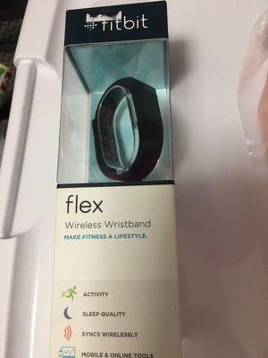 Fitbit Flex Wireless Activity + Sleep Wristband, Black for Sale in Boston, MA