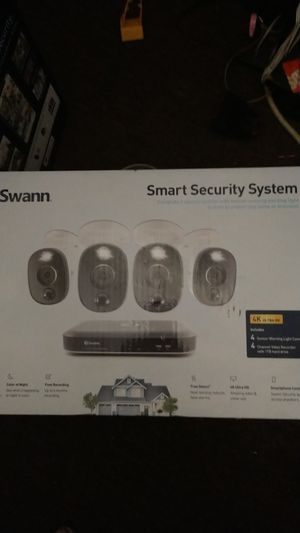 Swann smart security system for Sale in Richmond, CA