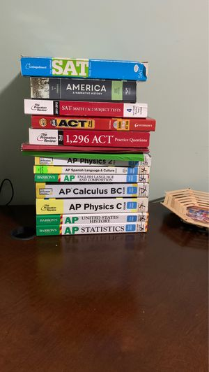SAT/ACT/AP PREP BOOKS for Sale in Buffalo Grove, IL