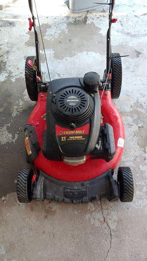 (Honda) TROY-BILT 21inch High Performance/ Easy Start Push Lawn Mower for Sale in Spring Hill, FL