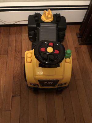 MEGA BLOCKS 3 in 1 RIDE ON TRUCK; MICKEY MOUSE 6-VOLT POWERED TRAIN W/ TRACKS & CABOOSE; FISHER PRICE INFANT TO TODDLER ROCKER; GRACO SWAVI BOOSTER S for Sale in Boston, MA
