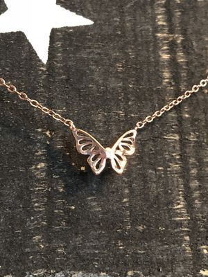 Rose Gold Butterfly Necklace for Sale in Warrington, PA