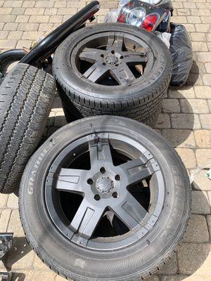 Rims + tires + parts for Jeep WJ for Sale in Boston, MA