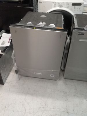 Kitchenaid dishwashers stainless steel new scratch and dents good condition 6 months warranty 🔥🔥 for Sale in Mount Rainier, MD