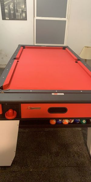 Pool table & Air Hockey Table for Sale in Chicago, IL