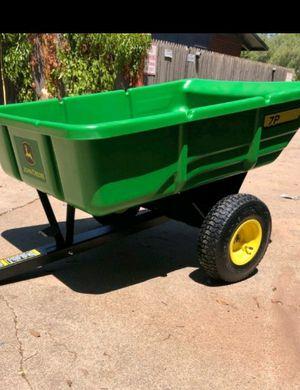 John deere hauler/dump trailer for Sale in Lubbock, TX
