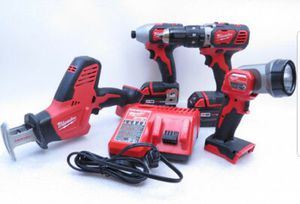 Milwaukee 4pcs tool set new for Sale in Arlington, VA