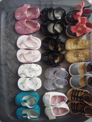 Size 1 Infant Girl Shoes Lot for Sale in Norfolk, VA