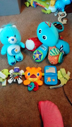 Stroller toy, care bear, stuffed octopus for Sale in Philadelphia, PA