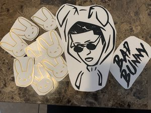 Bad bunny decal stickers for Sale in Lynwood, CA
