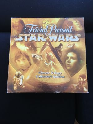 Trivial Pursuit Star Wars with Miniatures board game for Sale in Boston, MA