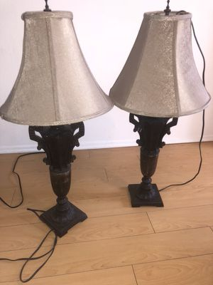 Two matching lamps for Sale in Los Angeles, CA