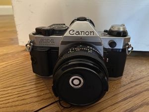 Canon AE-1 Program 35mm SLR Manual Focus Camera for Sale in Bethany, CT