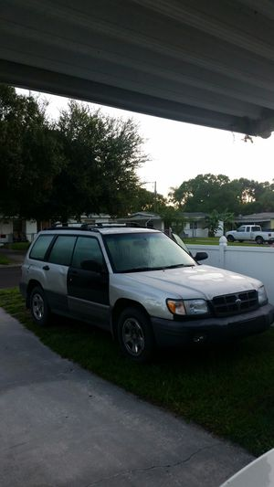 2001 Subaru Forrester 900 cash takes it for Sale in Tampa, FL