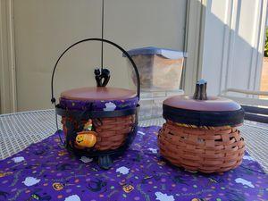 Longaberger Halloween Baskets Fall Collectible Rare Mat for Sale in Phoenix, AZ